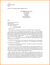 Legal Letter Format For Breach Of Contract Refrence Sample Demand