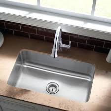 33x22 Undermount Kitchen Sink by Single Bowl Kitchen Sinks Sink Clean Simple Elegant Plumbing