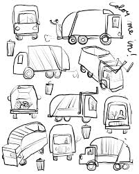 100 Truck Drawing Simple At Getscom Free For Personal Use