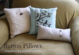 Pottery Barn Throw Pillows by Running With Scissors Button Throw Pillow Covers