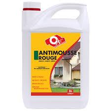 anti mousse murs exterieurs antimousse façade spécial mousses rouges oxytol 5 l leroy merlin