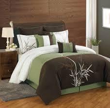 Queen Size Bed In A Bag Sets by 12 Piece Bamboo Embroidered Bed In A Bag Set