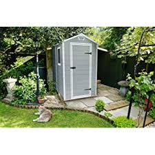 4x6 Outdoor Storage Shed by Amazon Com Keter Manor Large 4 X 6 Ft Resin Outdoor Backyard