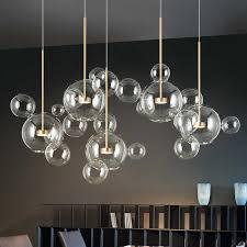 moderne mickey led anhänger leuchtet matt glas anhänger
