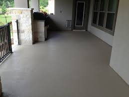 Self Leveling Floor Resurfacer Exterior by Custom Painted Concrete Patio Custom Color Created To Match The