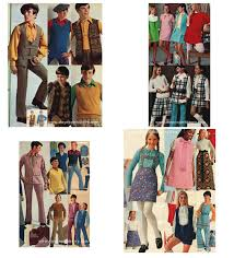 1970s Boys And Girls Childrens Clothes Example 1