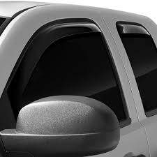 Find Wade 72-39407 07-11 Chevy Silverado Wind Deflectors Truck In ... How To Install Rain Guards Inchannel And Stickon Weathertech Side Window Deflectors In Stock Avs Color Match Low Profile Oem Style Visors Cc Car Worx Visor For 20151617 Toyota Camry Wv Amazoncom Black Horse 140660 Smoke Guard 4 Pack Automotive Lund Intertional Products Ventvisors And 2014 Jeep Patriot Cars Sun Wind Deflector For Subaru Outback Tapeon Outsidemount Shades Front Door Best Of Where To Find Vent 2015 2016 2017 Set Of 4pcs 1418 Silverado Sierra Crew Cab Shade