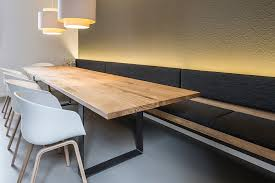 essbereich mit indirekter beleuchtung büro köthe moderne