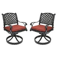 Cast Aluminum Patio Furniture With Sunbrella Cushions by Best Swivel Rocker Patio Chairs Patio Furniture Reviews
