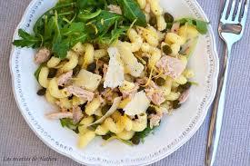 recette de pate au thon recette de salade de pâtes au thon et au citron la recette facile