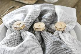 A Project You Can These DIY Rustic Birch Napkin RIngs Are Perfect For Simplistic Entertaining