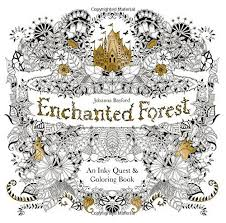 Original English Secret Garden Enchanted Forest Coloring Book Adult Relieve Stress Graffiti Painting Drawing Korean