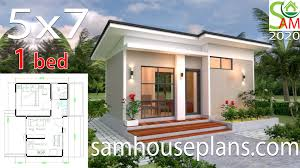 100 One Bedroom Design House Plans 5x7 With Shed Roof Sam House Plans