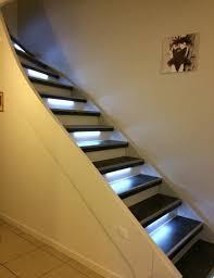 marche en bois pour escalier beton gallery of rnovation escalier