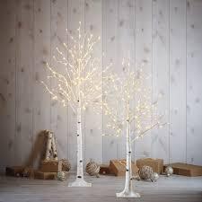 Juego De 2 árboles De Abedul Con Luces LED Costco Mexico