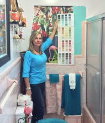 Teal Bathroom Paint Ideas by Retro Design Dilemma Paint Colors Or Wallpaper For Diane U0027s