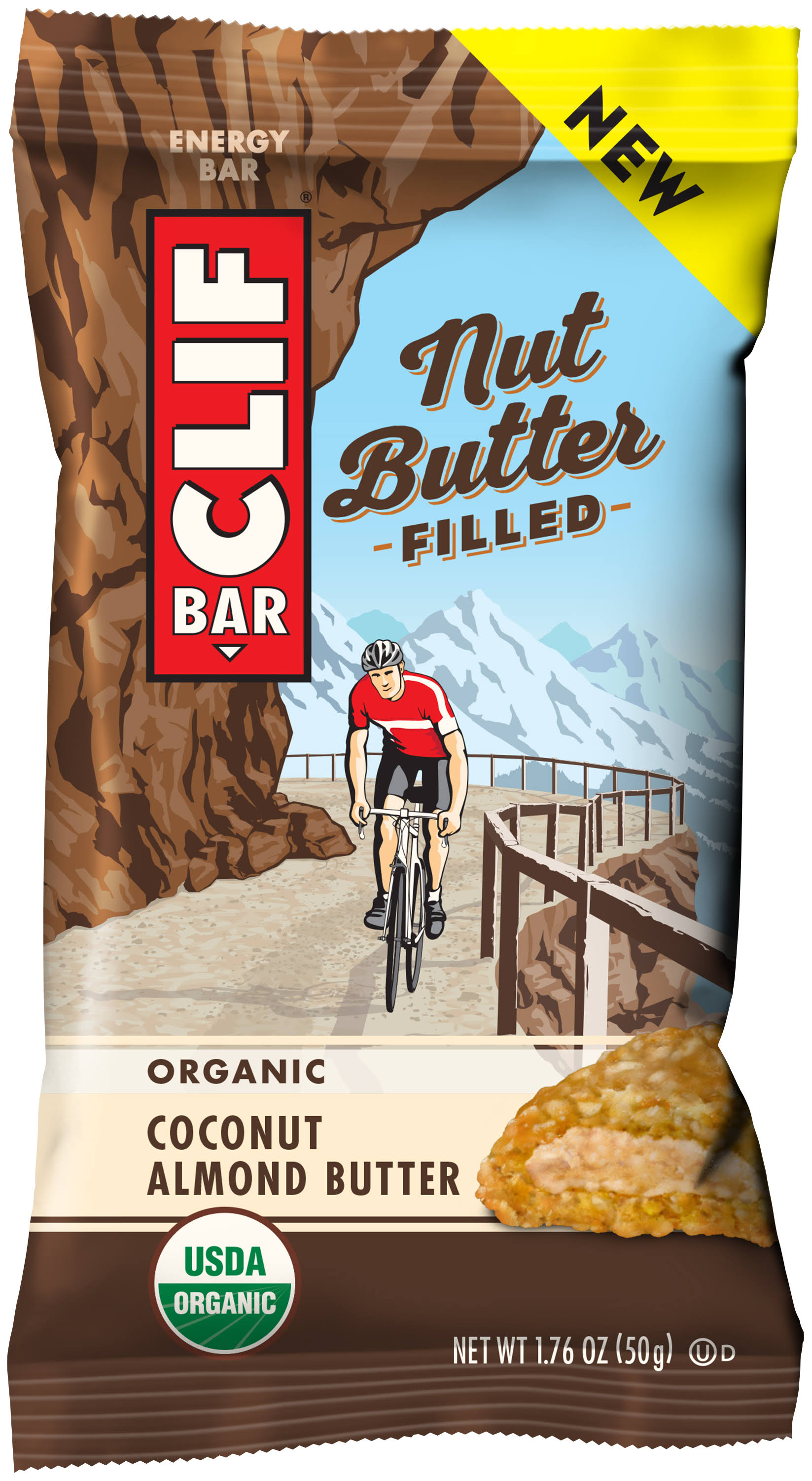 Clif Bar Organic Coconut Almond Butter - Nut Butter, 50g