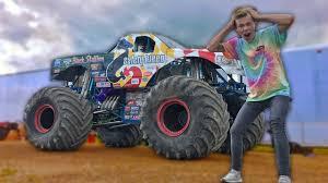 100 Monster Truck Music News Videos More DESTROYING Cars In A MONSTER