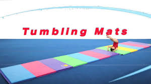 tumbling mats youtube