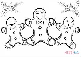 Outstanding Christmas Gingerbread Man Coloring Pages With House And Candy