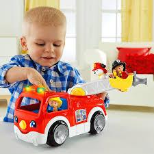 Little People® Lift 'n Lower Fire Truck - Shop Little People Toddler ...