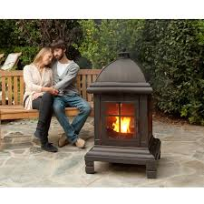 Portable Outdoor Fireplaces Wood Burning