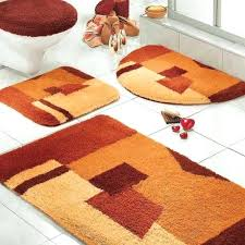 Orange Bath Mats Orange Bath Mat Red Bathroom Rugs Bright Round