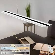 zmh led pendelleuchte hängele esszimmer 38w dimmbar mit fernbedienung höhenverstellbar für arbeitszimmer wohnzimmer kaufen otto