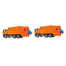 Bruder Toys Construction Car Scania Garbage Truck With 4 Bins ... Dickie Toys 11 In Garbage Truck Green And Products Tonka Mighty Motorised Online Australia Amazoncom Melissa Doug Wooden Vehicle Toy 3 Pcs 143 Scale Diecast Waste Management For Kids With Joyabit Friction Powered With Lights Rolloff Dumpster Action Town Kids 4 201119084 Mb Antos Rtr Rc Matchbox Large Walmartcom Pump Air Series Brands Buy At Universe