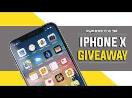 free iphones x giveaway