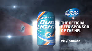 Bud Light Launches New NFL Team Specific Cans Campaign