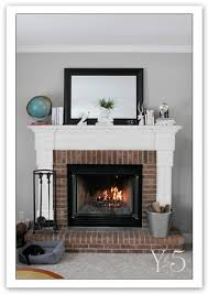Paint Colors Living Room Red Brick Fireplace by Best 25 Red Brick Fireplaces Ideas On Pinterest Red Brick Paint