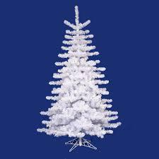 Artificial Douglas Fir Christmas Tree by 10 U0027 Pre Lit Crystal White Artificial Christmas Tree Multi Lights