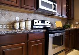 Kitchen Backsplash Ideas Dark Cherry Cabinets by Backsplash Gallery Denver Stone City