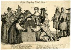 Popes Nose Held To Grindstone The Protestant Grind Stone Print Issued London
