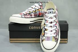 converse all plaid converse all plaid hi top sneaker black white unisex
