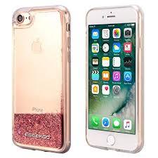 Amazon iPhone 7 iPhone 8 Case ESEEKGO Floating Glitter