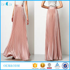 list manufacturers of pleated skirt long maxi buy pleated skirt