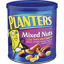 Planters Nuts Sea Salt