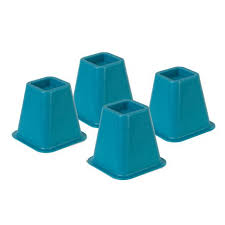 bed risers blue br set of 4 walmart canada