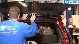 how to install repair replace broken 3rd third top brake light