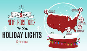 Crab Pot Christmas Trees Raleigh by The Best Neighborhoods To See Holiday Lights In 2014 Via Redfin