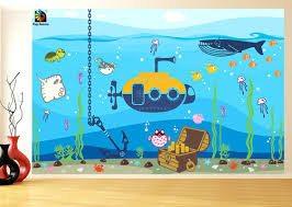 wall ideas underwater wall mural underwater wall mural decals