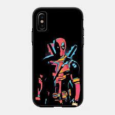 Deadpool iPhone case by Fimbis