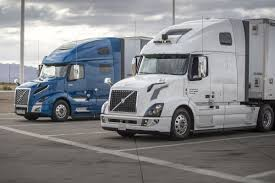 100 Truck Shipping Ubers Selfdriving Trucks Are Now Delivering Freight In Arizona