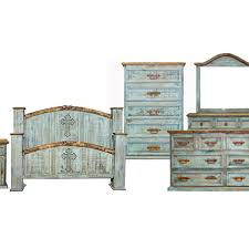 Perfect Turquoise Rustic Bedroom Furniture Mansion Cross Wash Group Chubs