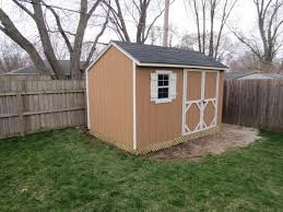 8x12 heartland stratford shed build with pictures the garage