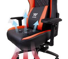 100 Gaming Chairs For S Thermaltake039s New Chair Cools Your Butt With Four