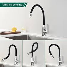küchenarmatur schwarz 360 flexibler drehbar wasserhahn küche armatur hochdruck spültischarmatur einhebelmischer mischbatterie für einzel und