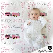 Baby Girl Firetruck Name Blanket, Pink And Gray Fireman Swaddling ... Amazoncom Carters Toddler Printed Coral Fleece Blanket Fire Truck Minky Baby Emergency Vehicle Crib Or Security Monogrammed Blanketpersonalized Police Super Soft Firefighter Throw Home Kitchen Clothes Storage Box Organizer 50l Firetruck Below Srp Personalized 30x35 Chevron 4 Piece Bedding Set Reviews Wayfair Infant Boys Sleeper Boy 024 Vehicle Swaddle Blanket Knit 1954 American Lafrance Classic Engine For Garbage Bo03 Roccommunity Firetruck Youcustomizeit